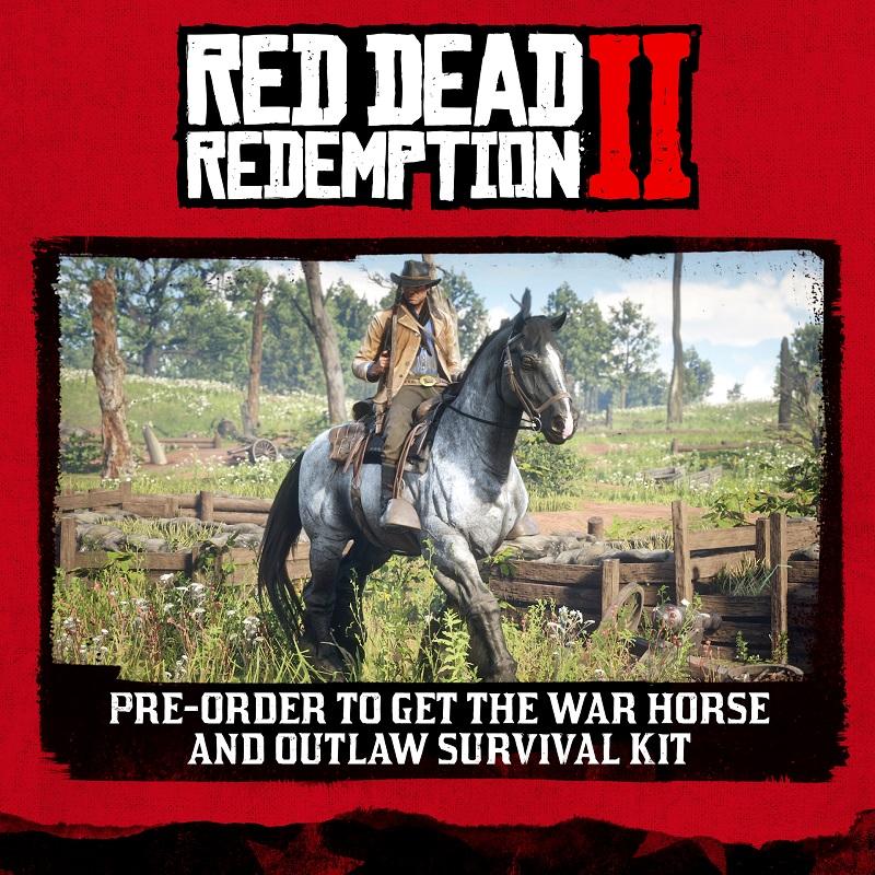 Red Dead Redemption 2 Bonus Preorder