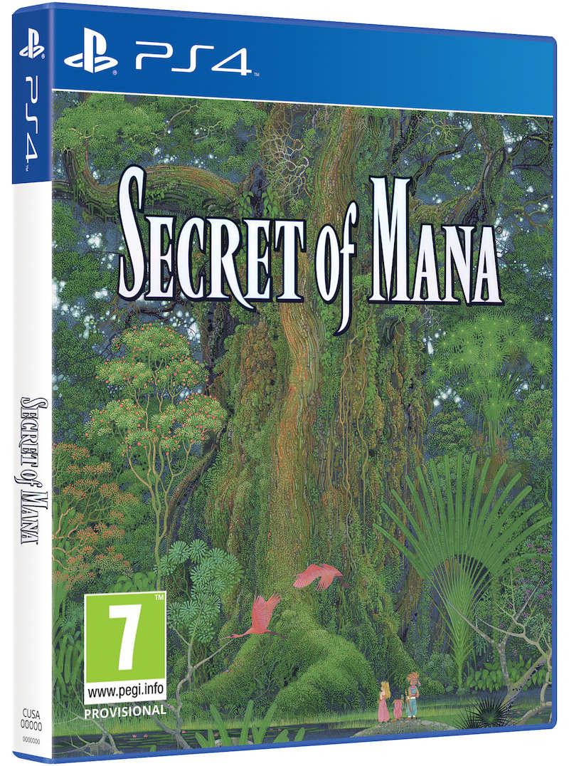 Secret of Mana PS4 Cover