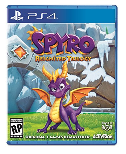 Spyro Reignited Trilogy - Cover