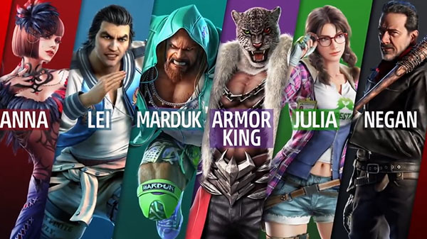 Tekken 7 Personaggi Season Pass 2