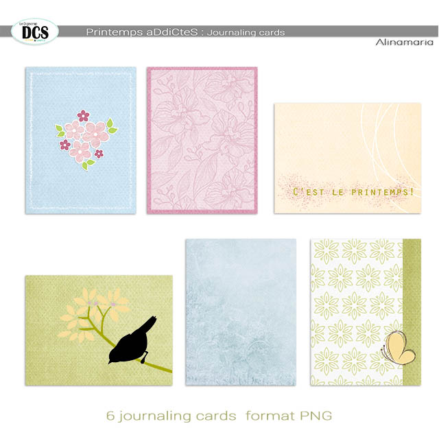 Printemps aDdiCteS : les cartes