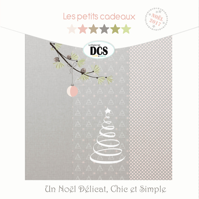 DCS, un Noël Délicat, Chic et Simple