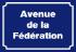 Avenue de la Fédération