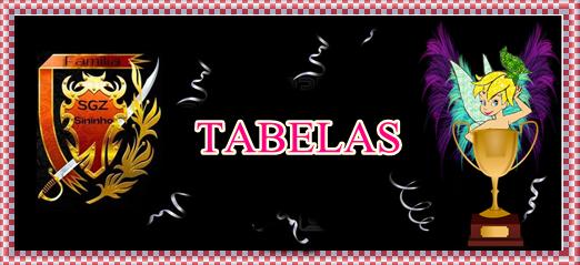 "<span style=""color: #FFBF00;"">亗 TABELAS DE TORNEIOS 亗</span>"