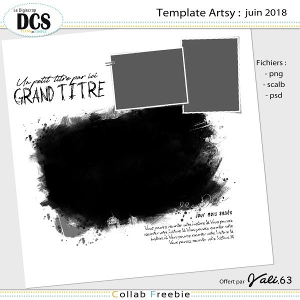 """Des templates""""artsy""""...."""