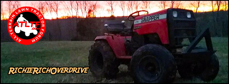 All-Terrain Lawn Tractor Forum