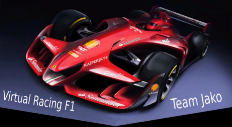 Virtual Racing F1
