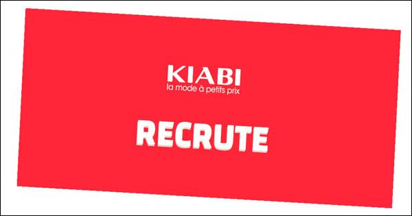 L'enseigne KIABI spécialisée dans l'habillement est en recherche active de différents profils sur tout le Maroc