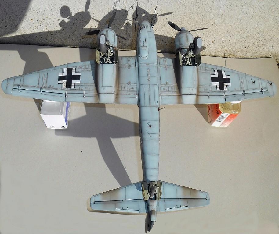 1/48 Ju 88R-2 (Base Dragon Ju 88C-6+AIMS Models Resin Kit