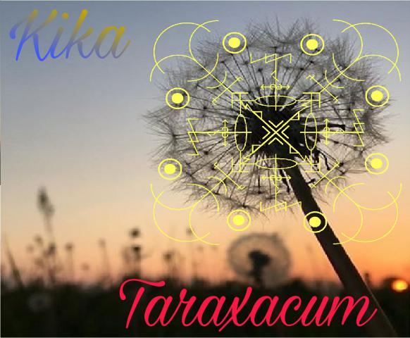 """Став """"Taraxacum"""".Автор  Kika"""