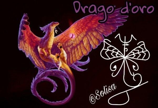 Drago d'oro.Автор Solisa