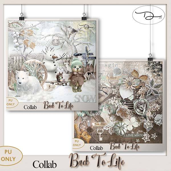 Back to Life collab de Saskia Designs dans Novembre 22554810