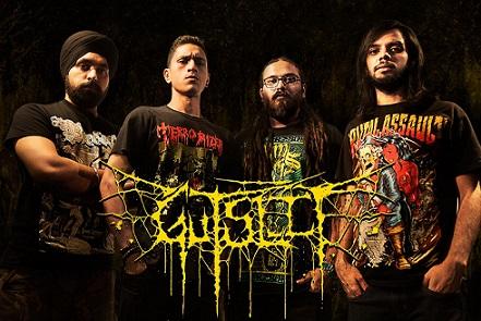Aux portes du metal chronique d 39 album metal gutslit amputheatre brutal death metal album - Aux portes du metal ...