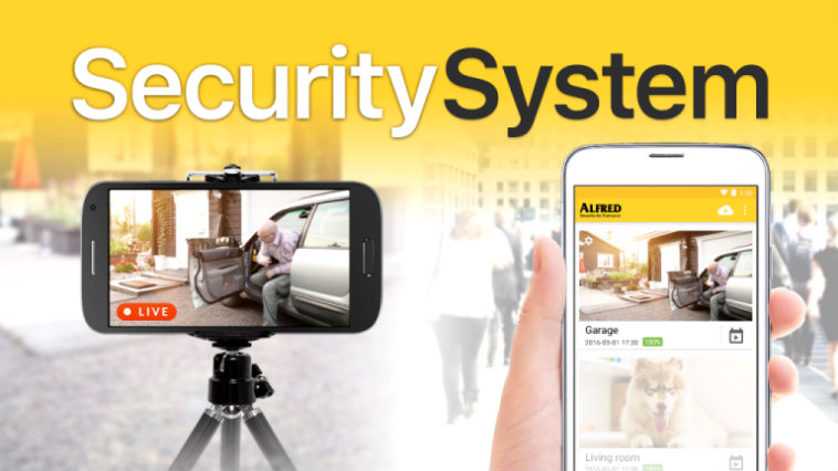 Download Alfred Home Security Camera App
