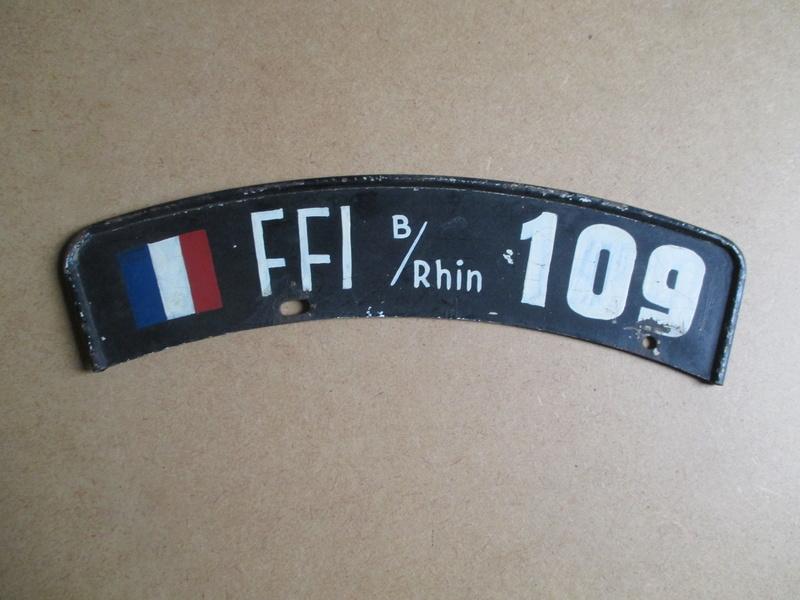 authentification et estimation plaque moto ffi. Black Bedroom Furniture Sets. Home Design Ideas