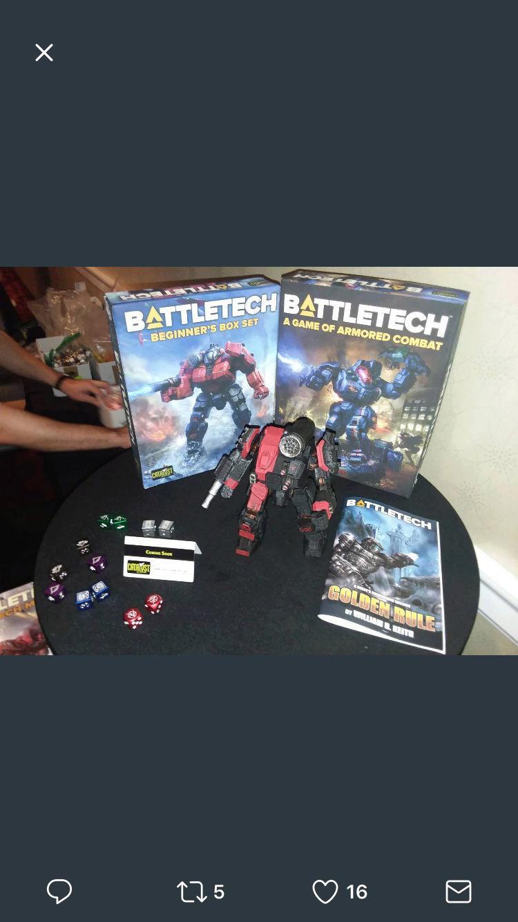 Nueva caja de Battletech en 2018