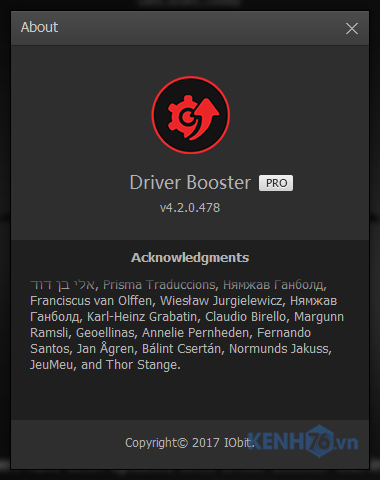 driver booster 4.5 pro key