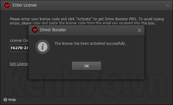 driver booster 6.2 lifetime key