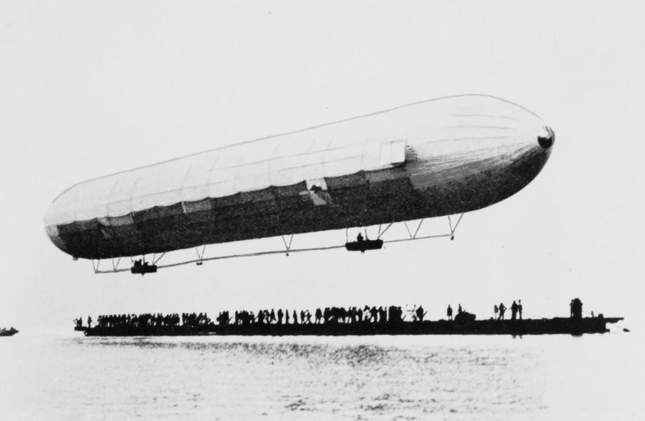 illustration Invention du zeppelin