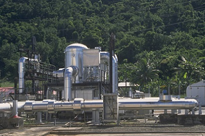 Usines Géothermiques du Gwangua
