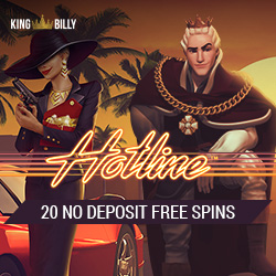 King Billy Casino 20 free spins no deposit