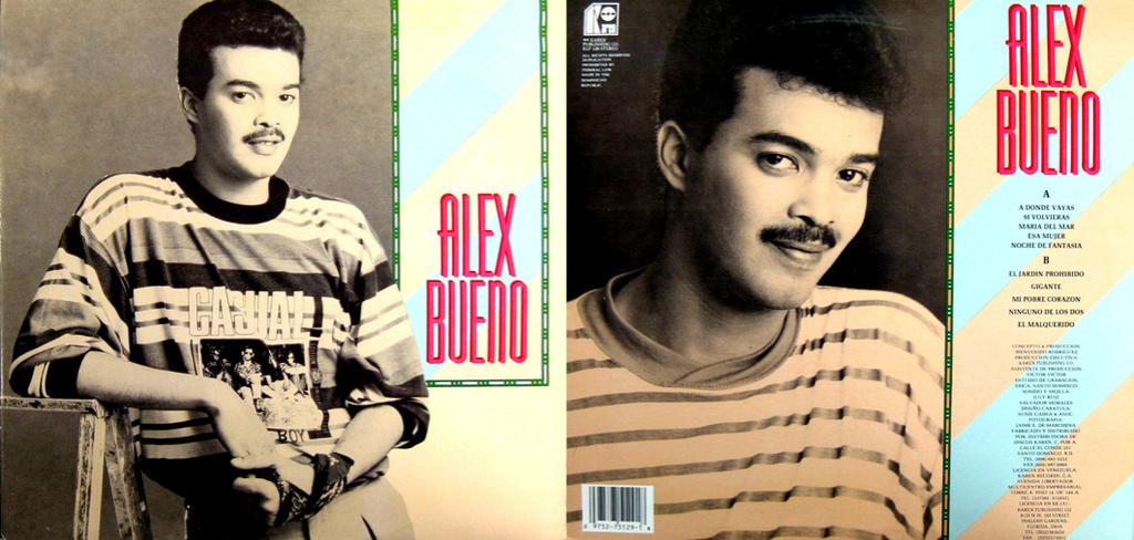 Alex bueno alex bueno 1991 for Jardin prohibido salsa