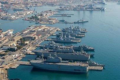 Port Militaire de Lunedon