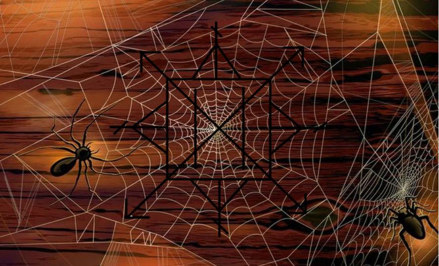 Паучьи сети.Автор Vemirida