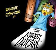 Maggie SImpson. Den lengste barnehagedagen