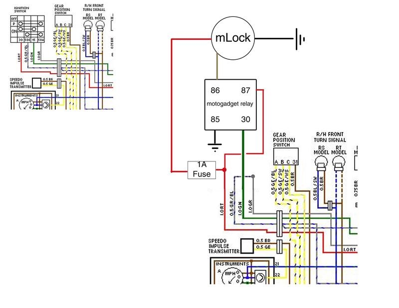 how to wire motogadget mlock rfid keyless ignition rh k100 forum com 85 k100 wiring diagram bmw k100 lt wiring diagram