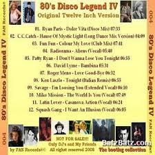 80's Disco Legend Vol 1-11 2008