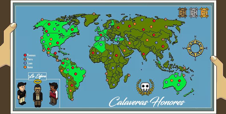 Calaveras Honores
