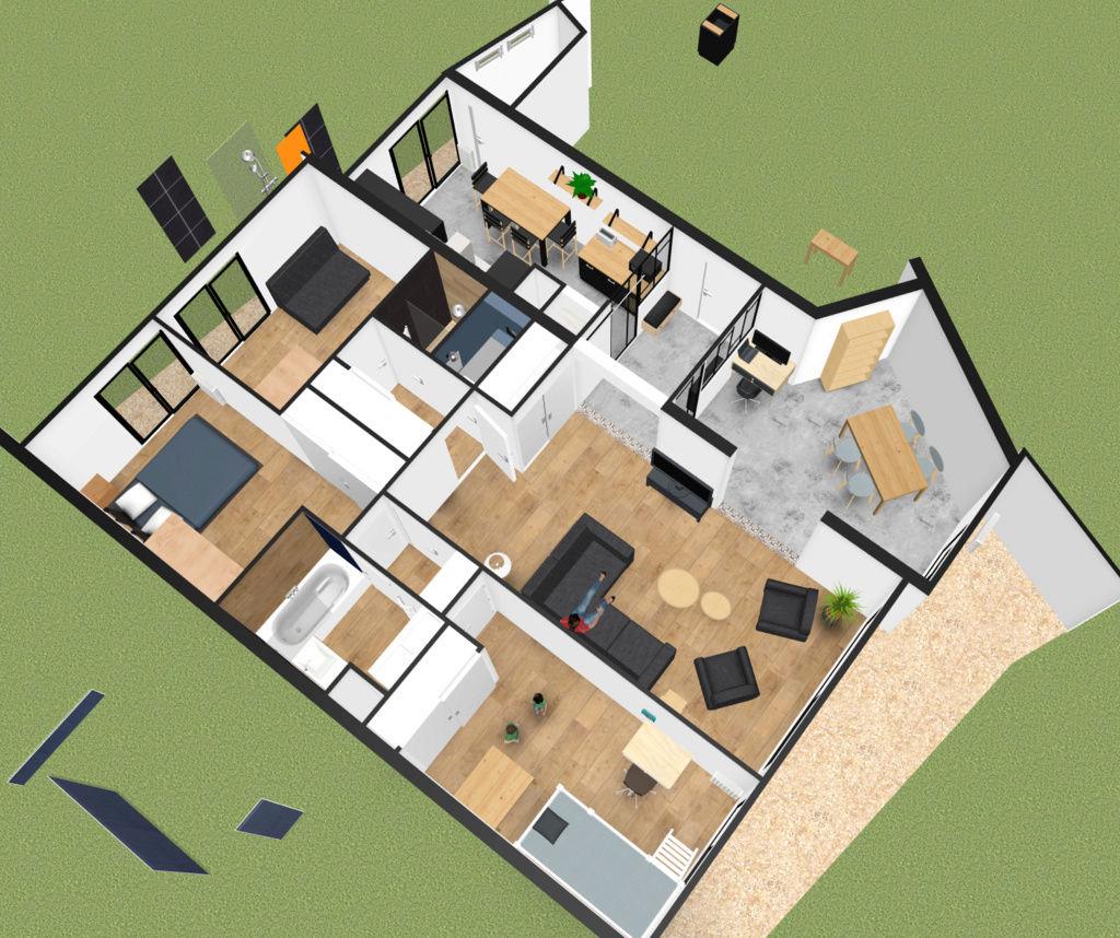 Maison Parquet Ou Carrelage forum immobilier : avis/conseil mélange parquet et carrelage